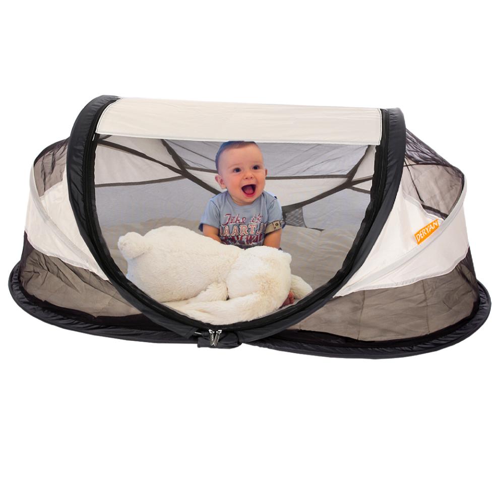 Rejseseng til børn Deryan Baby Luxe Cream