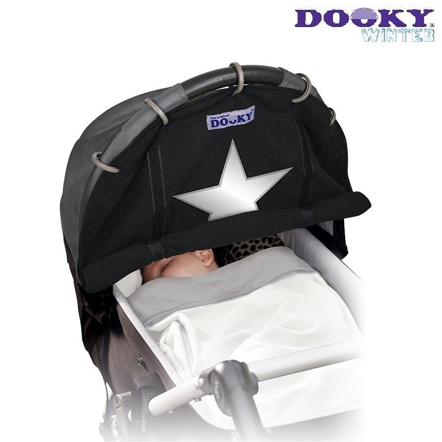 Solskærm til barnevogn Dooky Winter Star