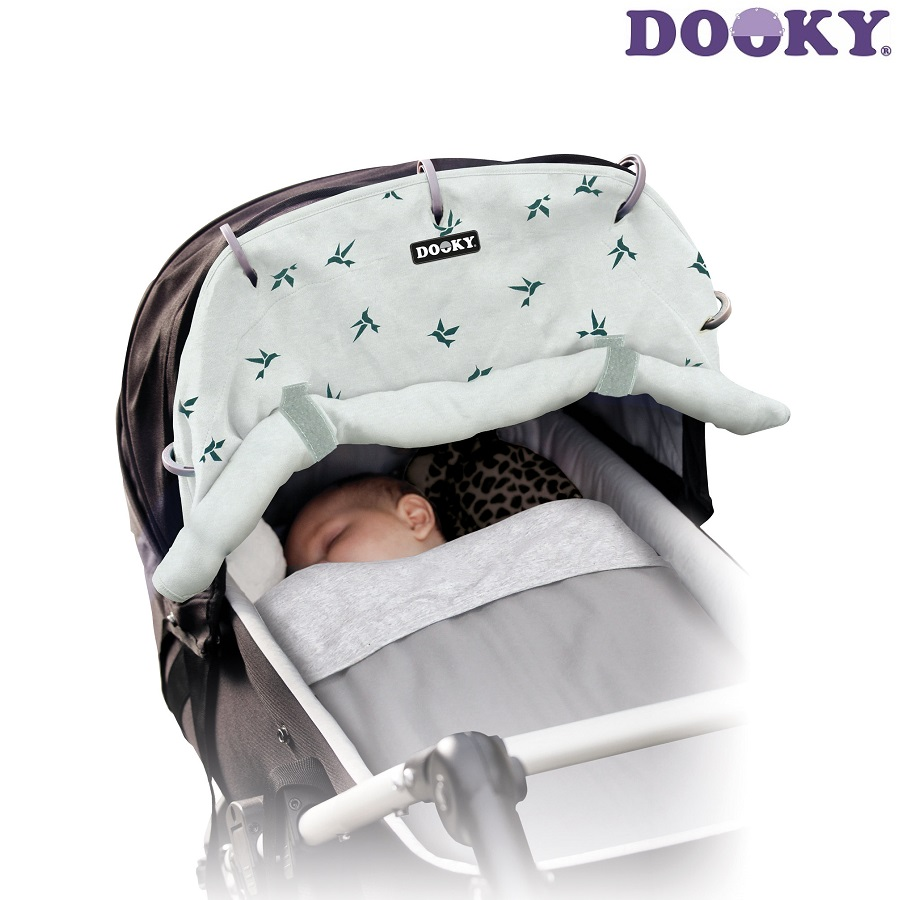 Solskærm barnevogn Dooky Grey Swallow