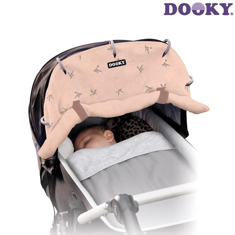 Solskærm barnevogn Dooky Rosé Swallow