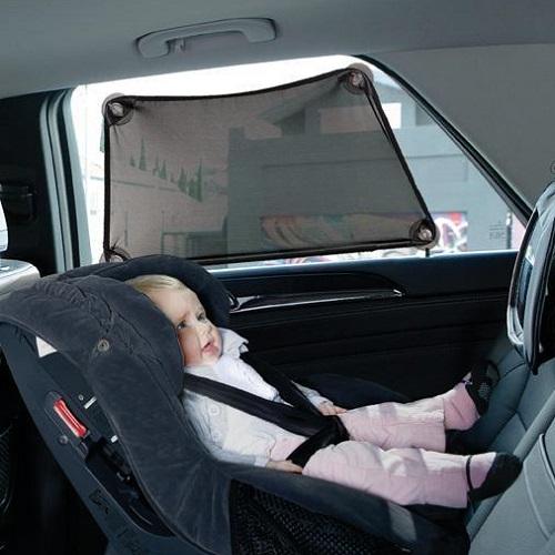 Solskydd bil med stretch Dreambaby Adjusta Car Shade