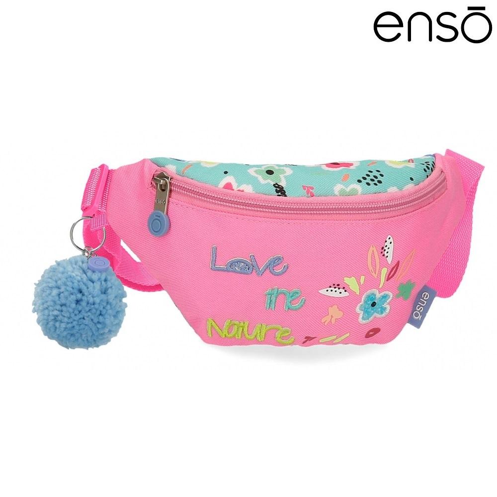 Bæltetaske til børn Enso Love the Nature