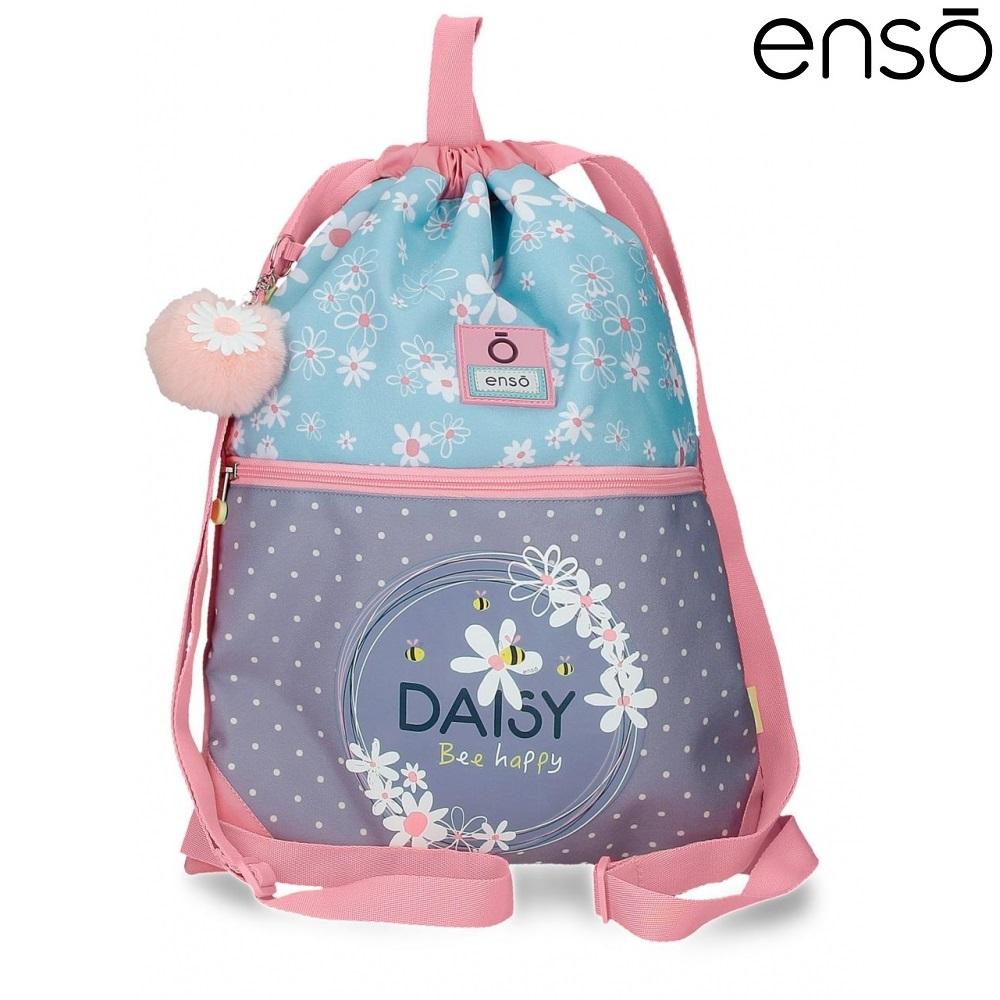 Gymnastikpose og sportstaske til børn Enso Daisy