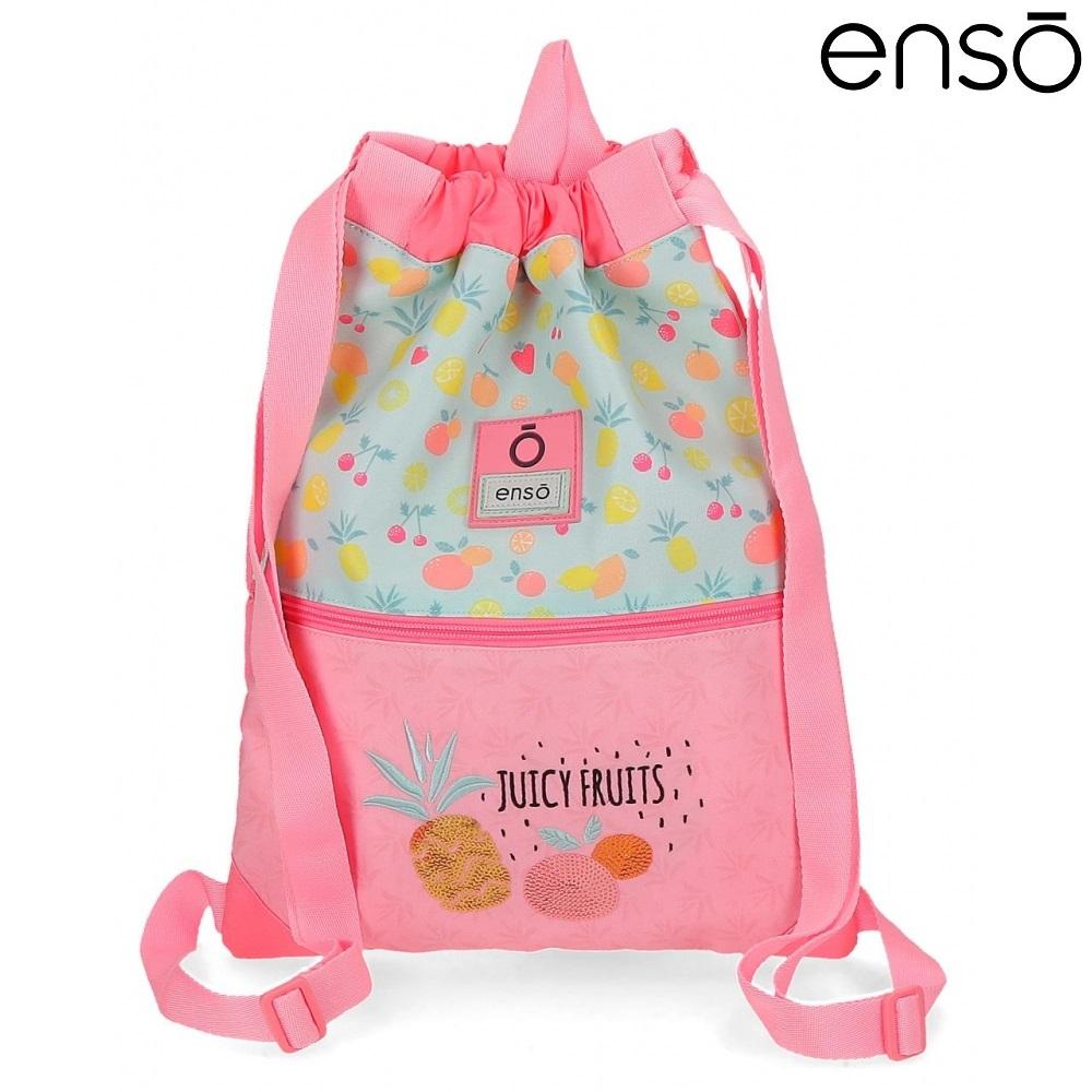 Gymnastikpose og sportstaske til børn Enso Juicy Fruits