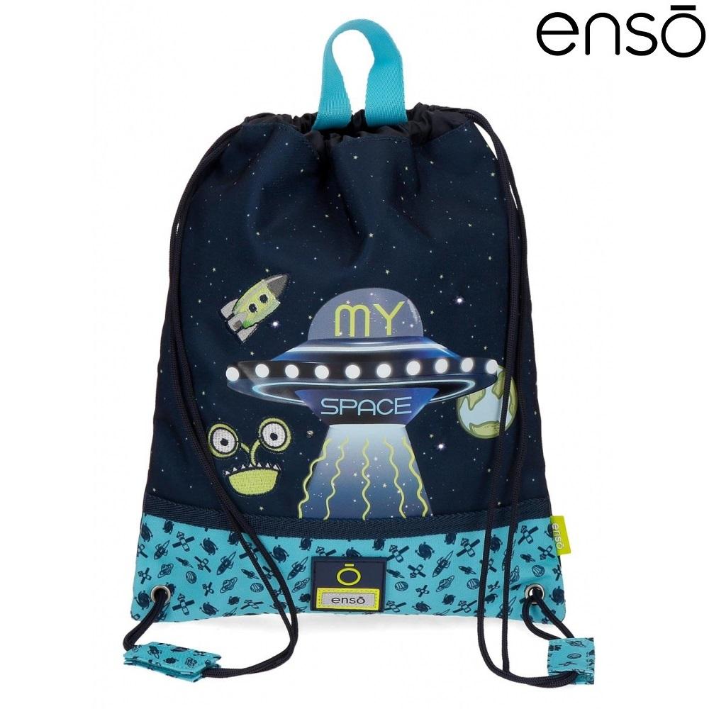 Gymnastikpose og sportstaske til børn Enso My Space