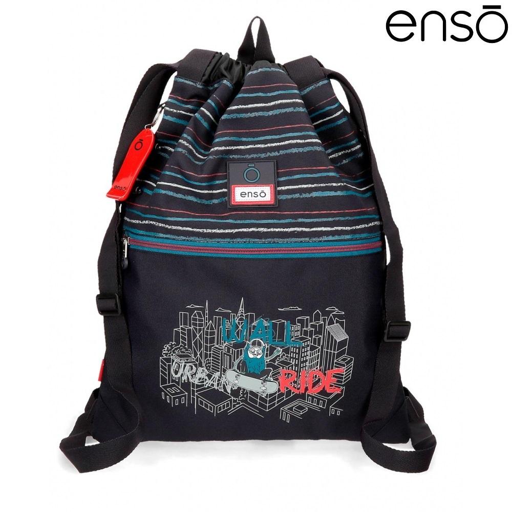Gymnastikpose og sportstaske til børn Enso Wall Ride
