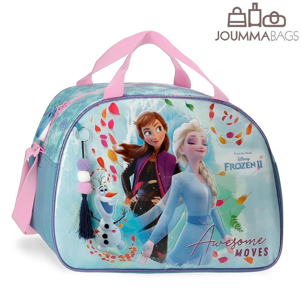 Lille rejsetaske til børn Frost lyseblå