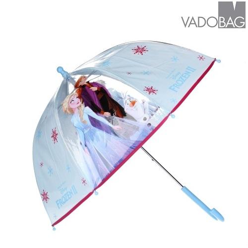 Paraply til børn Frost Umbrella Party lyseblå
