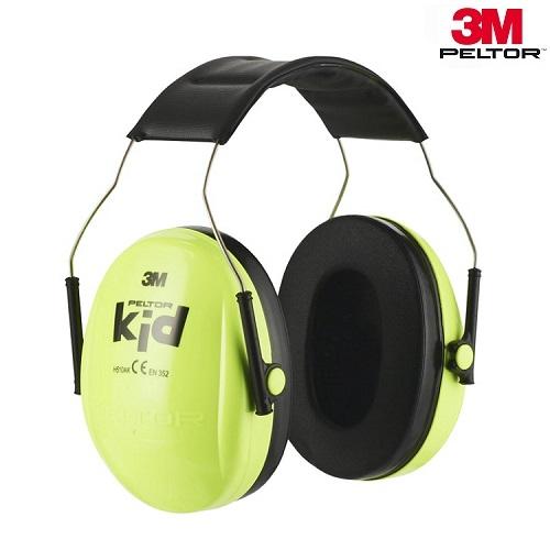 Høreværn til børn og baby 3M Peltor Kid Green