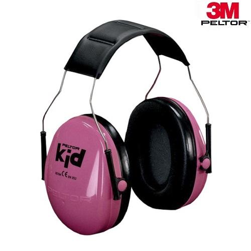 Høreværn til børn og baby 3M Peltor Kid Pink