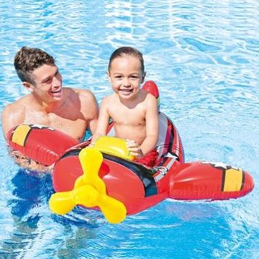 Oppustelig badedyr Intex Pool Cruiser fly