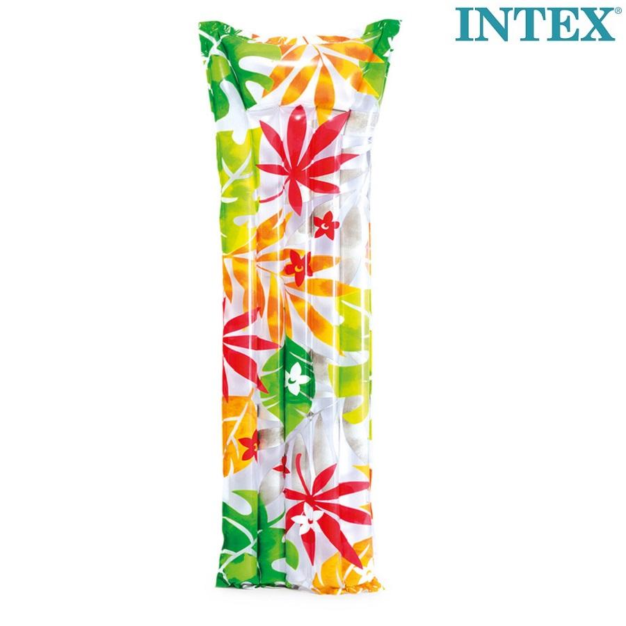Luftmadras til børn Intex Tropical Djungle