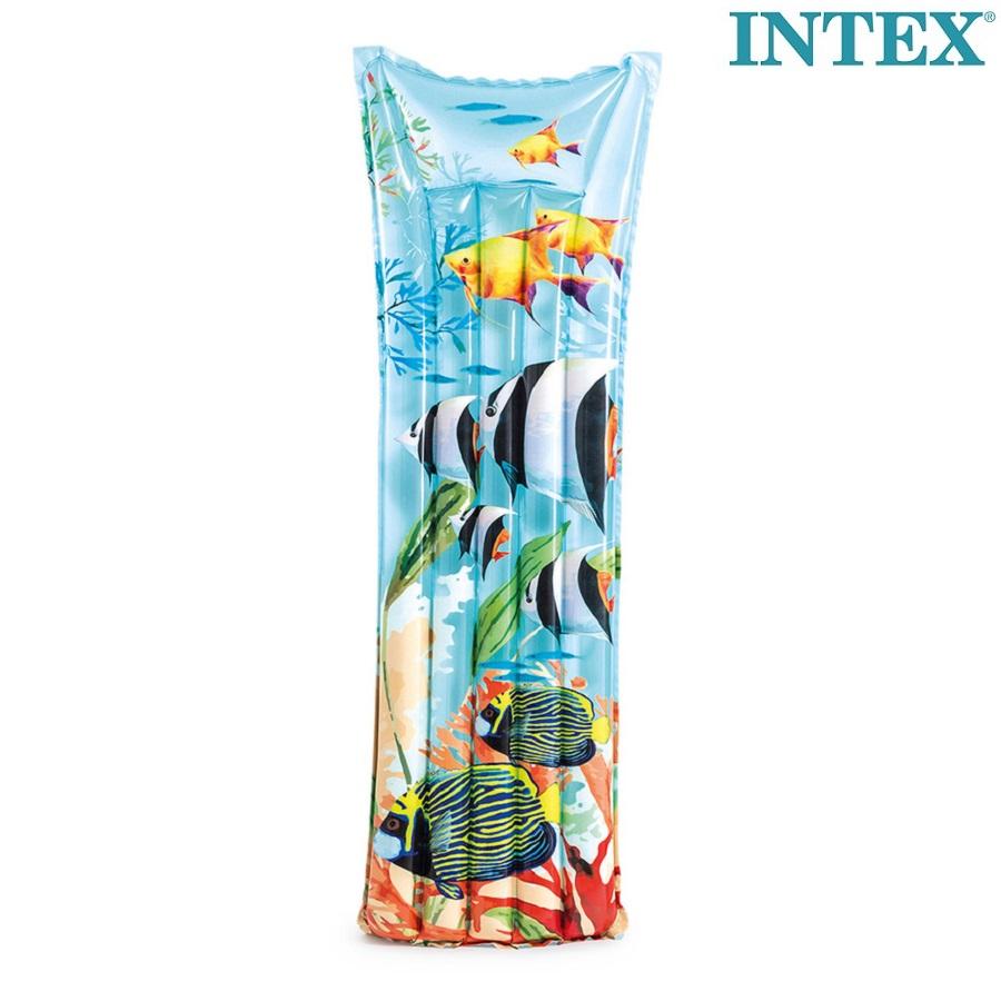 Luftmadras til børn Intex Tropical Fish