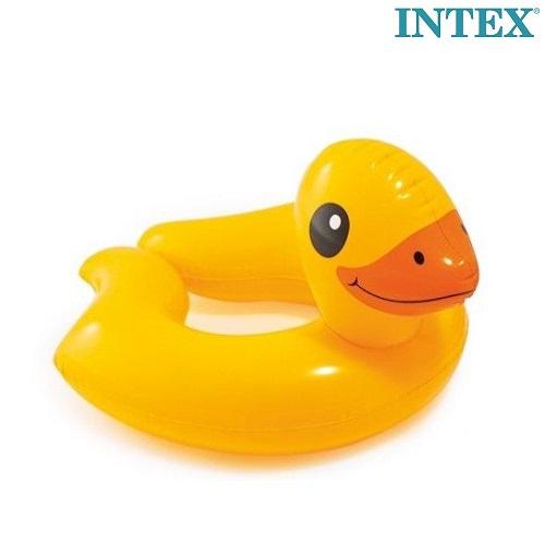 Oppusteligt badering og badedyr Intex Duck