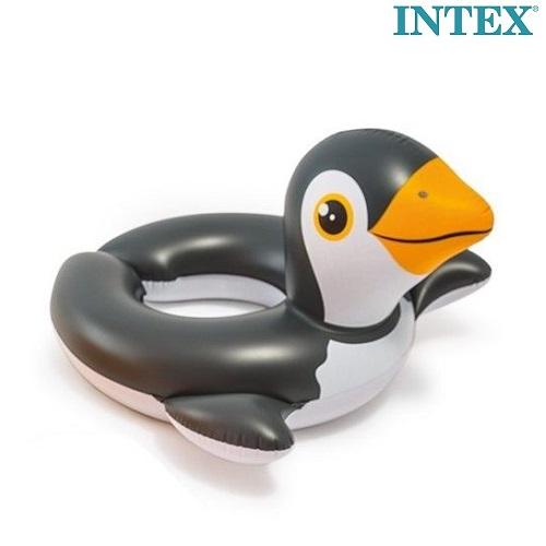 Oppusteligt badering og badedyr Intex Pingvin