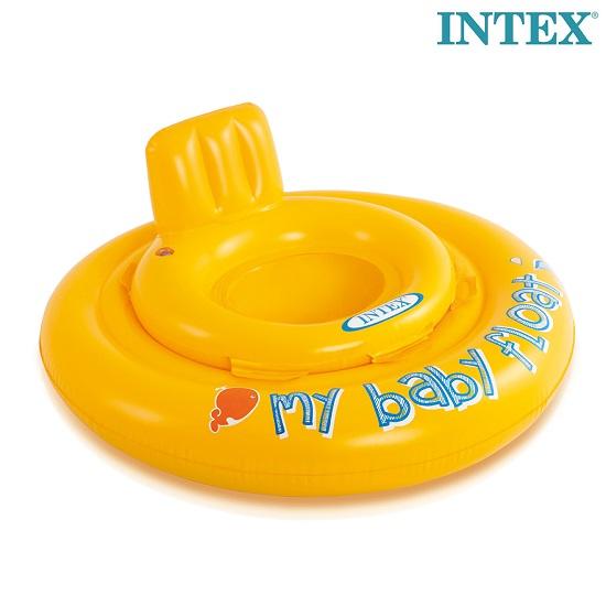 Intex baby badering Baby Float 0-1 år gul