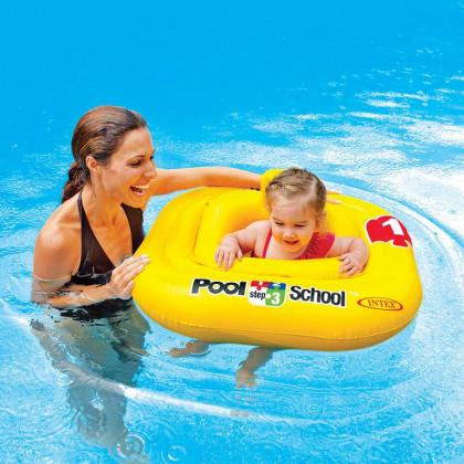 Intex baby badering Pool School 1-2 år gul