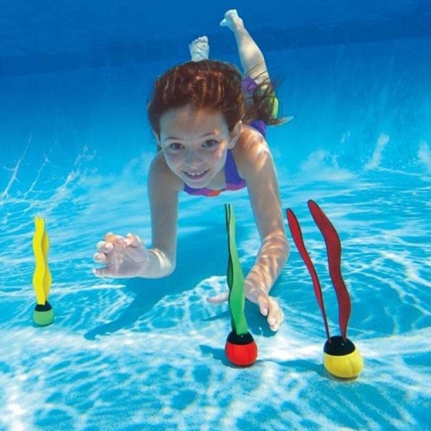 Dykkebolder til poolbrug Intex 3-pak