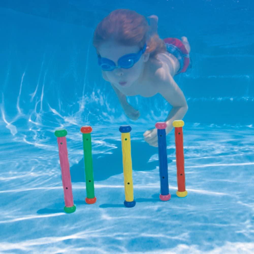 Dykkestave til poolbrug Intex 5-pak