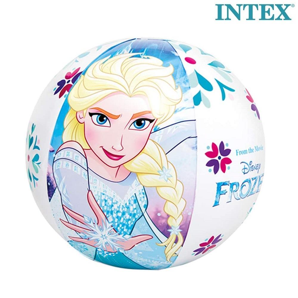 Oppustelig badebold Intex Frost Elsa og Anna