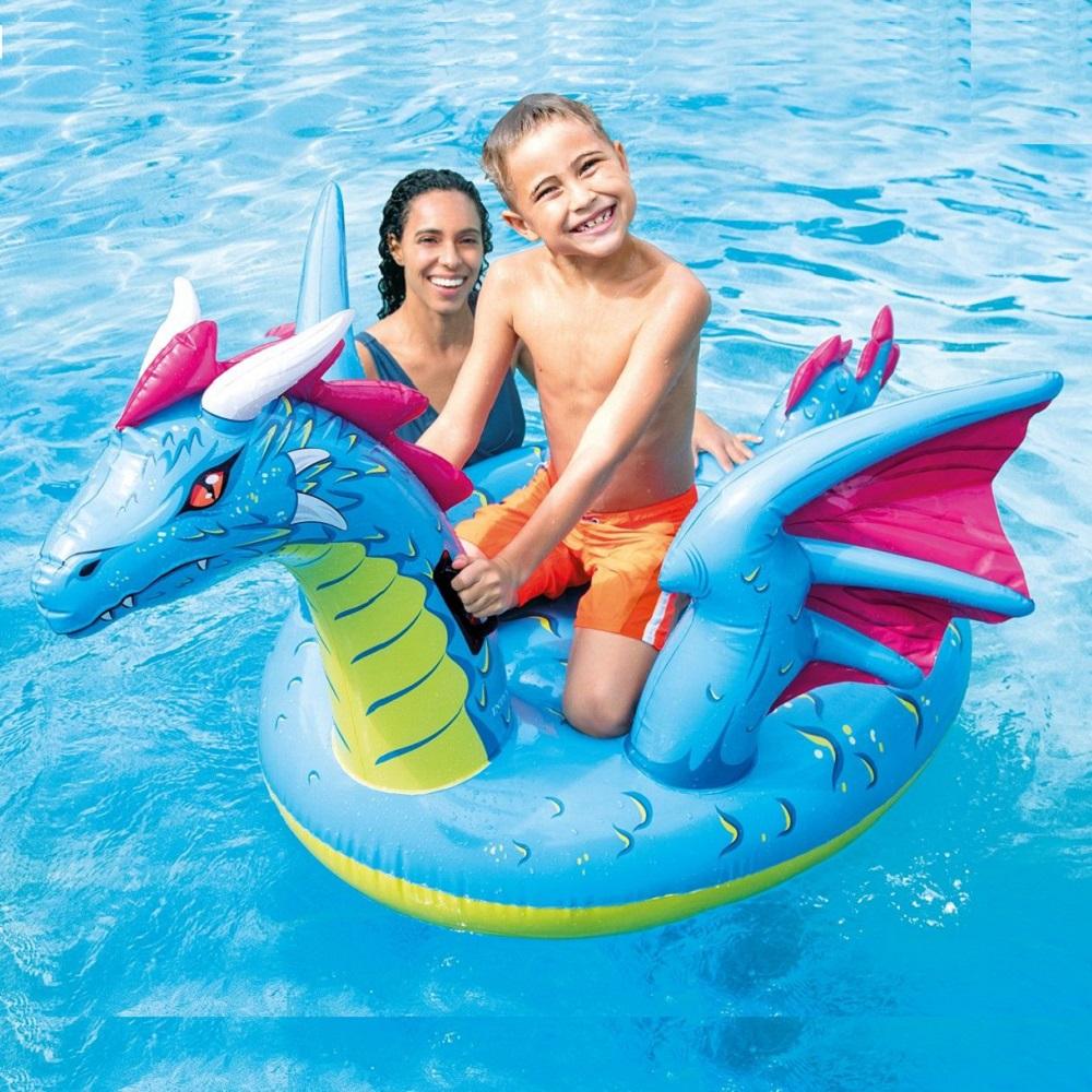 Oppustelig legetøj til pool Intex Drage XL
