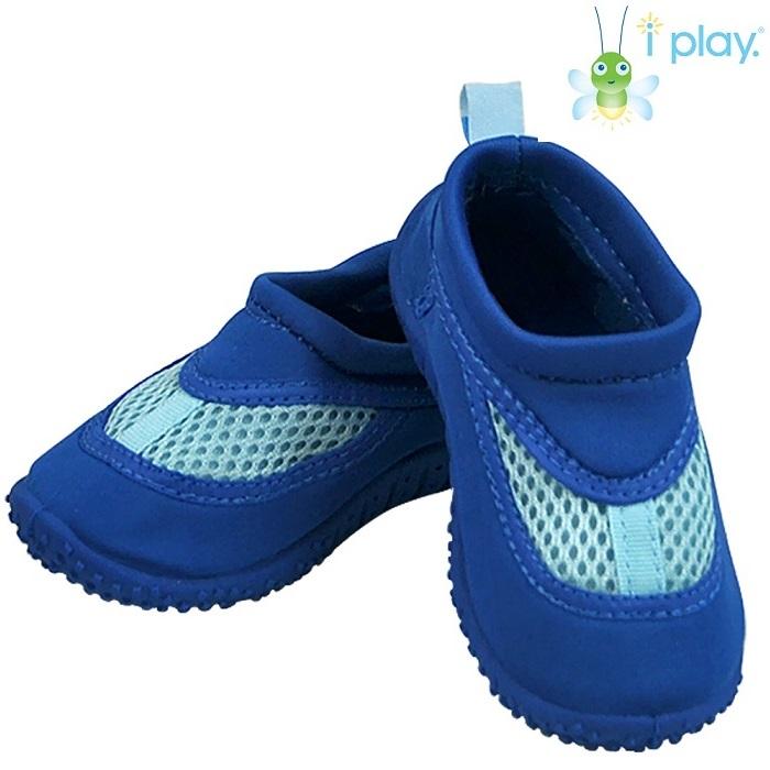 Badesko til børn Iplay Hot Pink blå