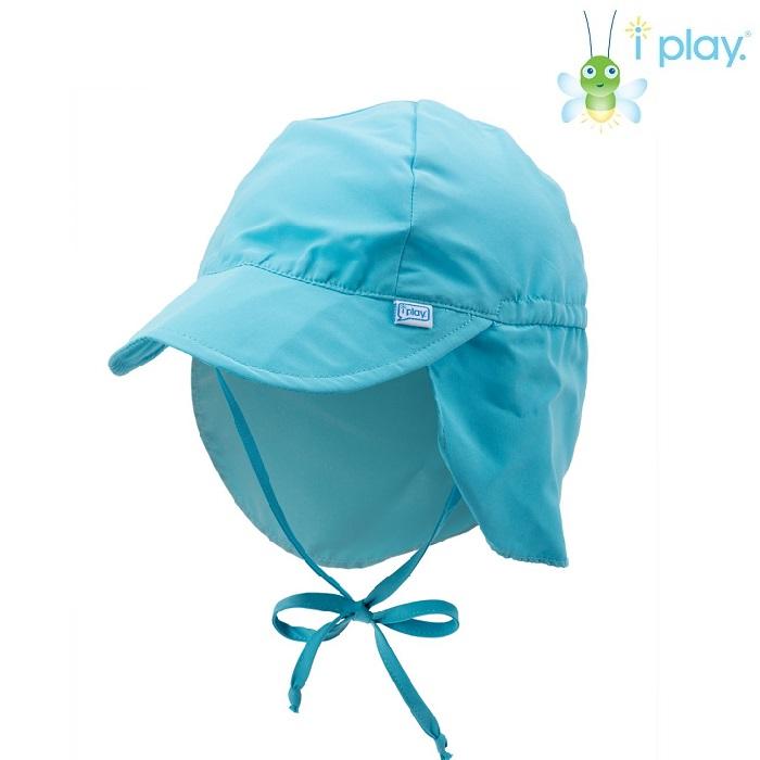 UV kasket til børn Iplay Aqua blå