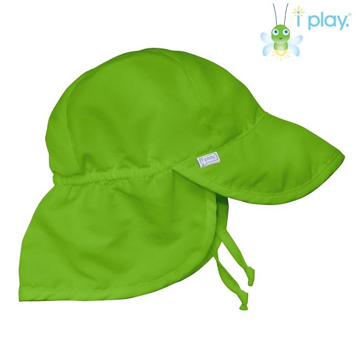 UV kasket til børn Iplay Lime grøn