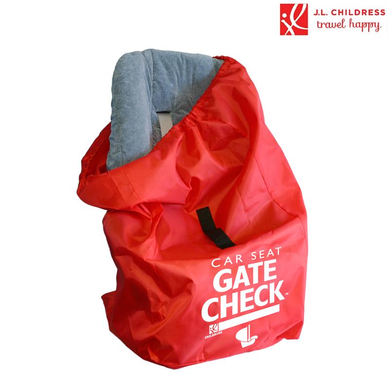 Transporttaske til autostol JL Childress Gate Check rød
