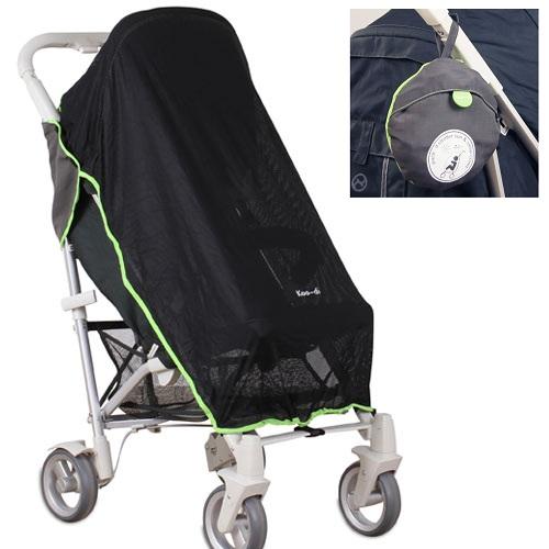 Pack-it! solskærm og myggenet til barnevogn