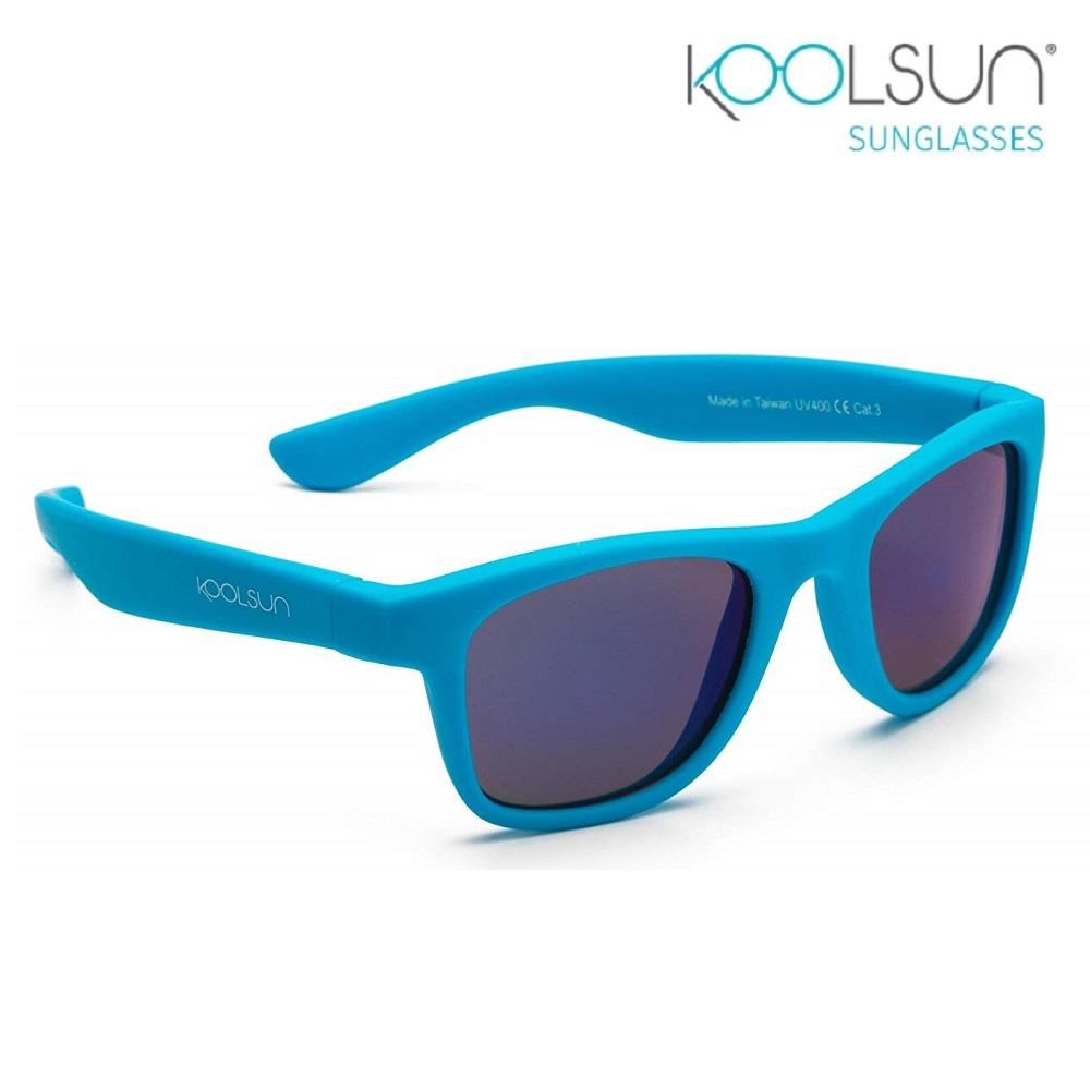 Solbriller børn Koolsun Wave Neon Blue