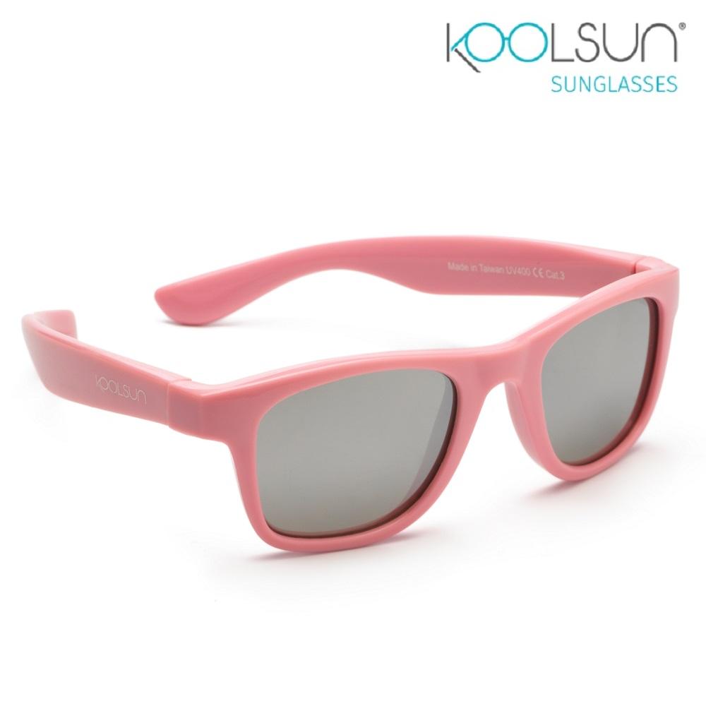 Solbriller børn Koolsun Wave Pink Sachet