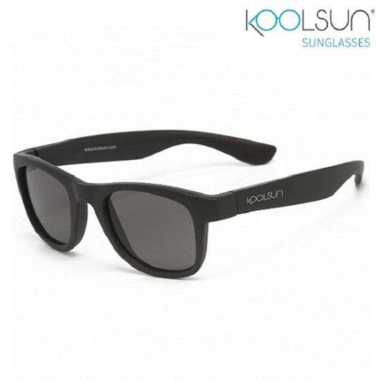 Solbriller til børn Koolsun Wave Matte Black
