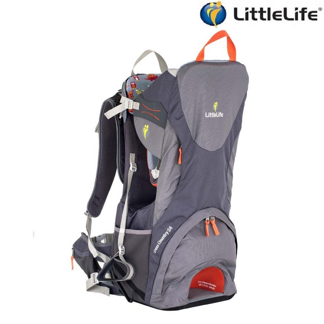 Bærestol LittleLife Cross Country S4 grå