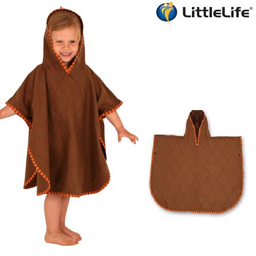Badeponcho til børn LittleLife Dino
