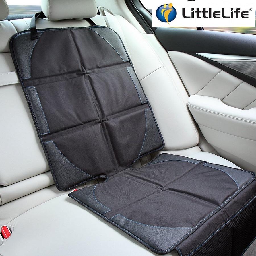 Sædebeskytter til bil med lommer LittleLife