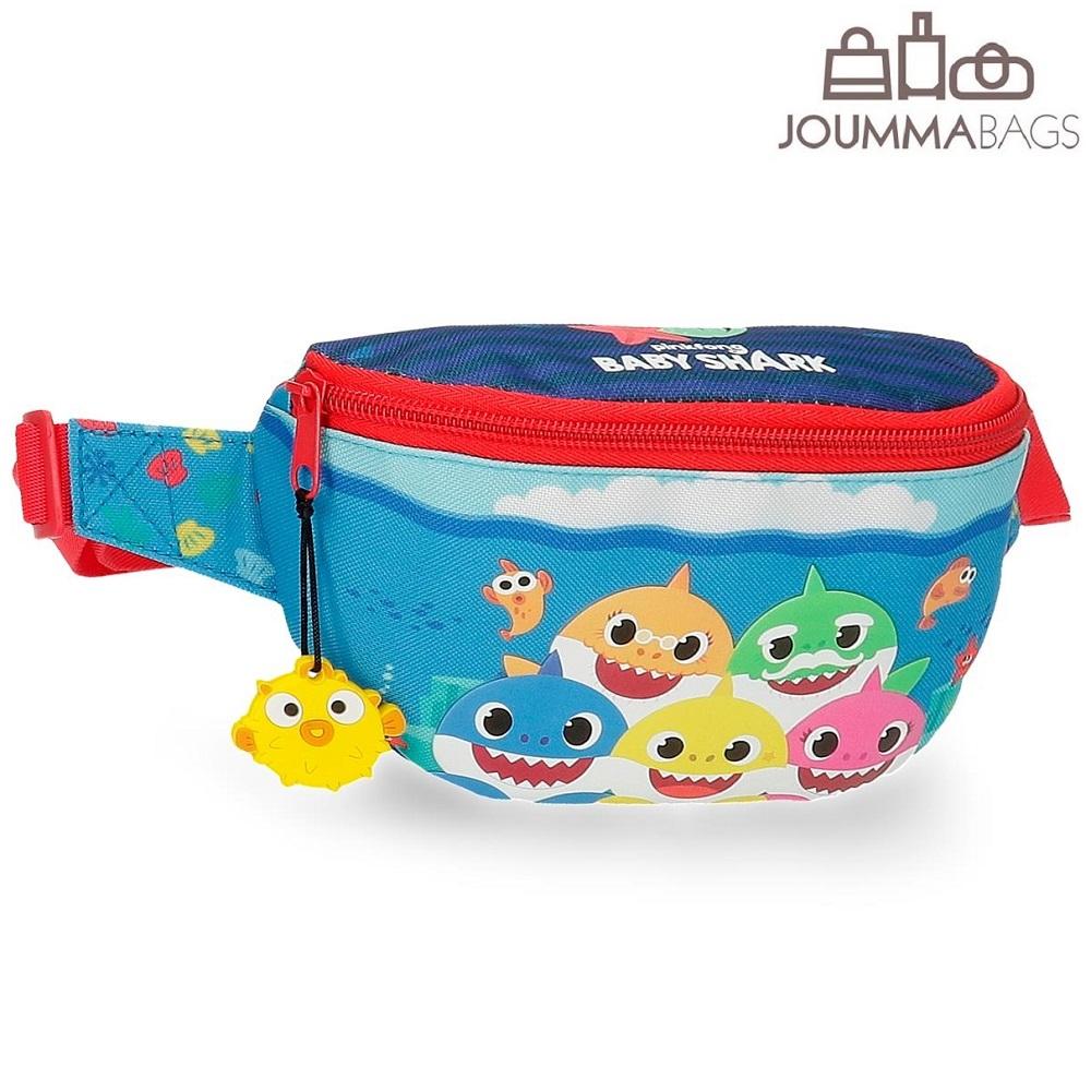 Bæltetaske til børn Baby Shark blå