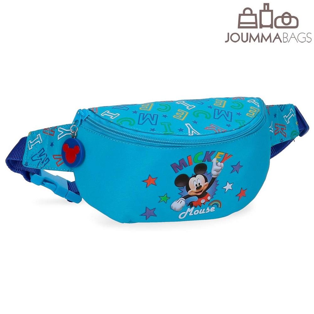 Bæltetaske til børn Mickey Mouse Stars
