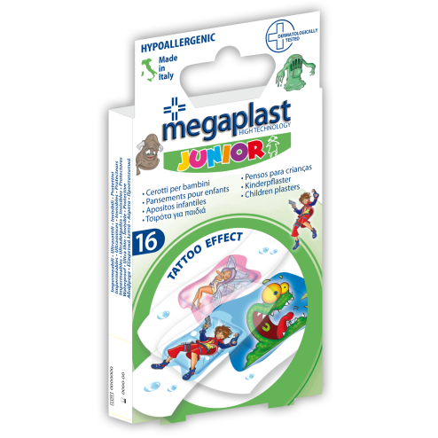 Barnplåster Megaplast Junior 16 st