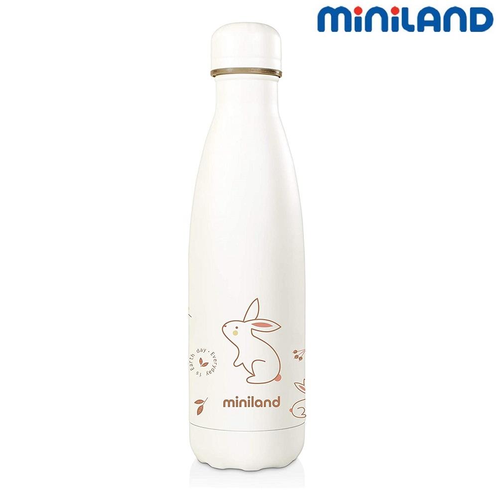 Lille termoflaske til børn Miniland Nature Bunny