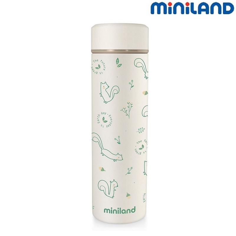 Lille termoflaske til børn Miniland Nature Chip