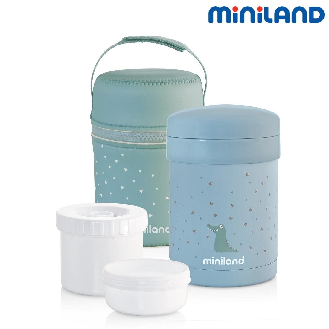 Termo madkasse Miniland Thermetic lyseblå