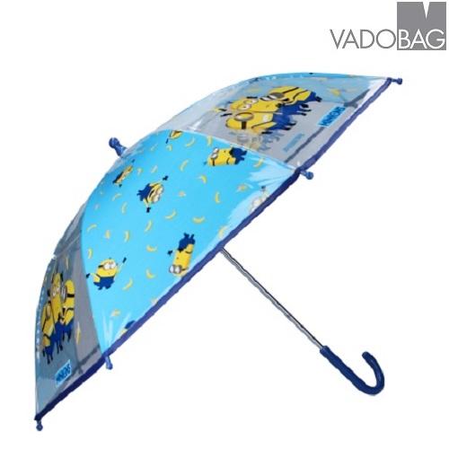 Børneparaply Minions Umbrella Party blå