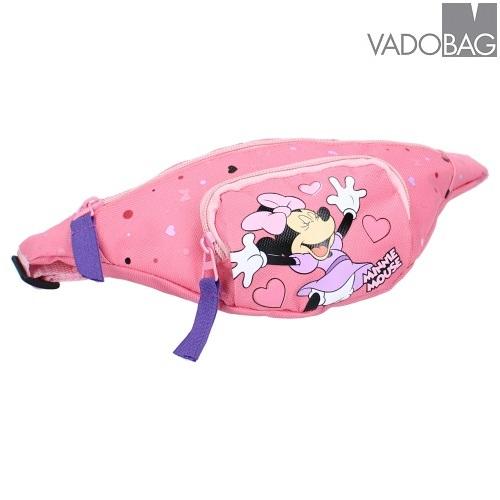Bæltetaske til børn Minnie Mus Aspire to Inspire lyserød