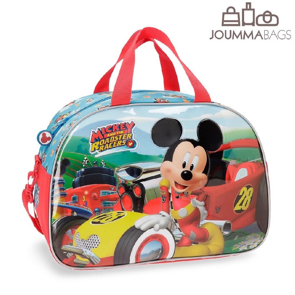 Rejsetaske til børn Mickey Mouse Roadster Racer