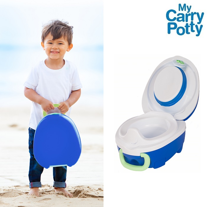 Rejsepotte My Carry Potty blå