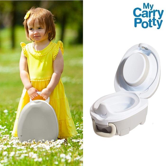 Rejsepotte My Carry Potty Bærbar potte grå