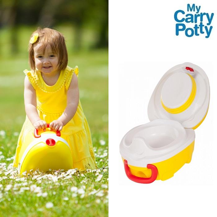 Rejsepotte My Carry Potty Bærbar potte gul