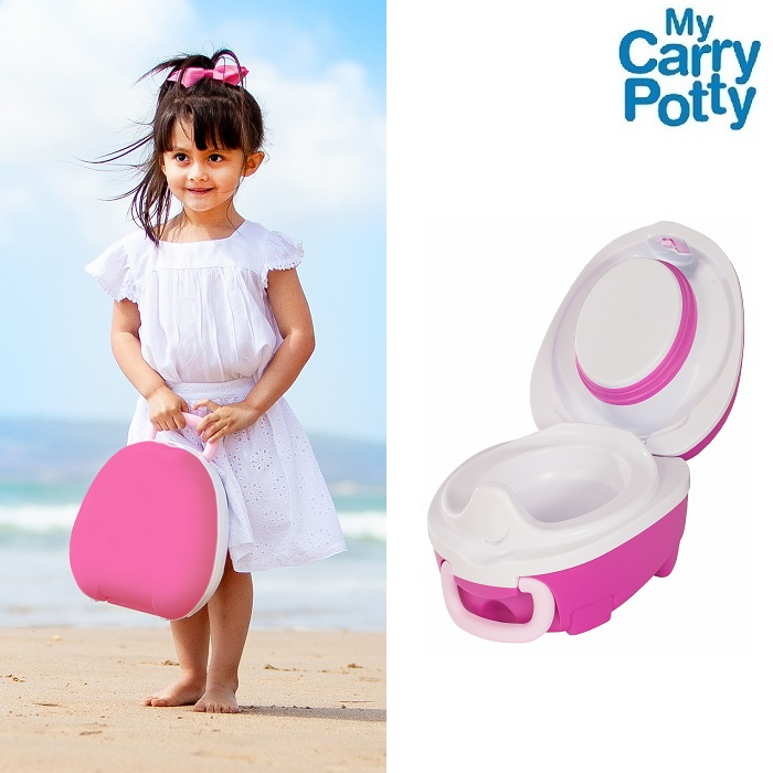 Rejsepotte My Carry Potty lyserød