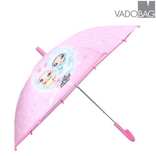Børneparaply Na!Na!Na! Surprise Raindrops lyserød